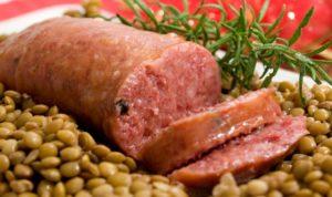 lenticchie castelluccio e cotechino